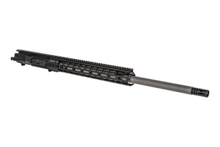 "Aero Precision 24"" black M5 barreled upper receiver with 6.5CM chamber, mid-length gas system, and Atlas R-ONE M-LOK rail."