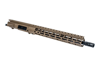 Aero Precision M5 barreled upper receiver with .308 chamber mid-length gas system and Atlas R-ONE FDE handguard