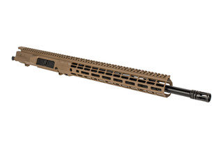 "Aero Precision 18"" FDE M5 barreled upper receiver with .308 chamber, mid-length gas system, and Atlas R-ONE M-LOK rail."
