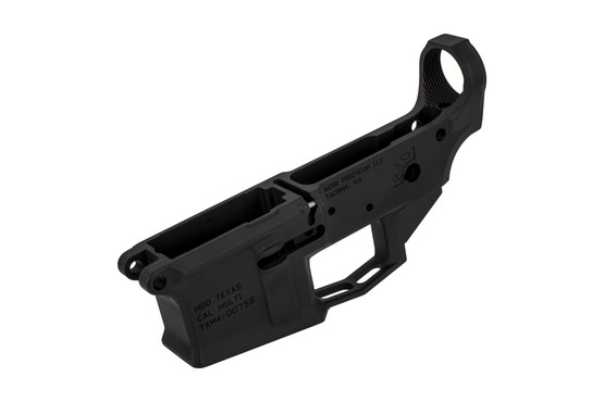 Aero Precision M4E1 stripped lower receiver for the AR-15 features a cool Texas logo