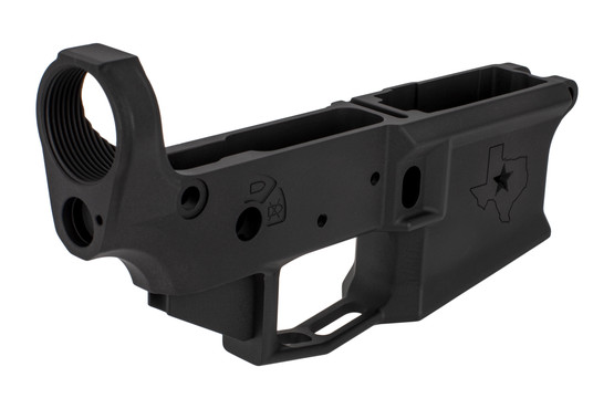 Stripped Aero Precision stripped AR15 lower receiver is compaible with short throw safety selectors
