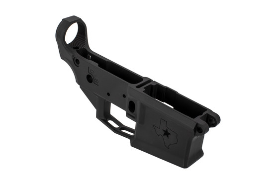 Aero Precition Texas edition M4E1 stripped AR 15 lower receiver machined from tough 7075-T6 aluminum and anodized black