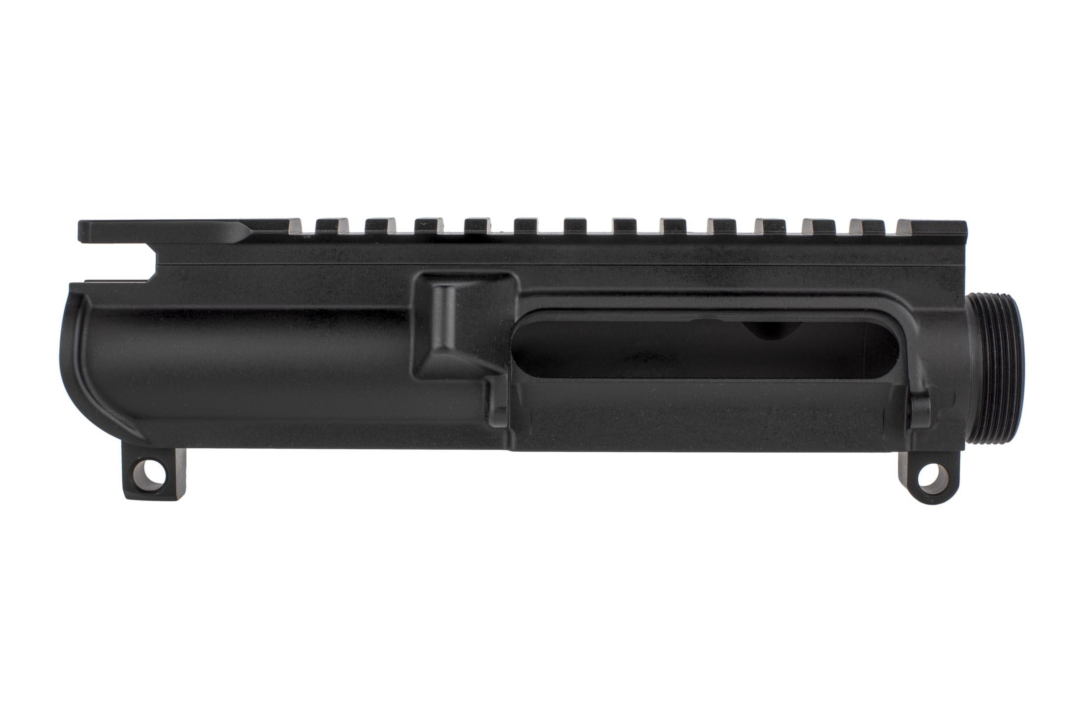 Aero Precision AR-15 stripped upper receiver offers slick side style without forward assist for reduced weight