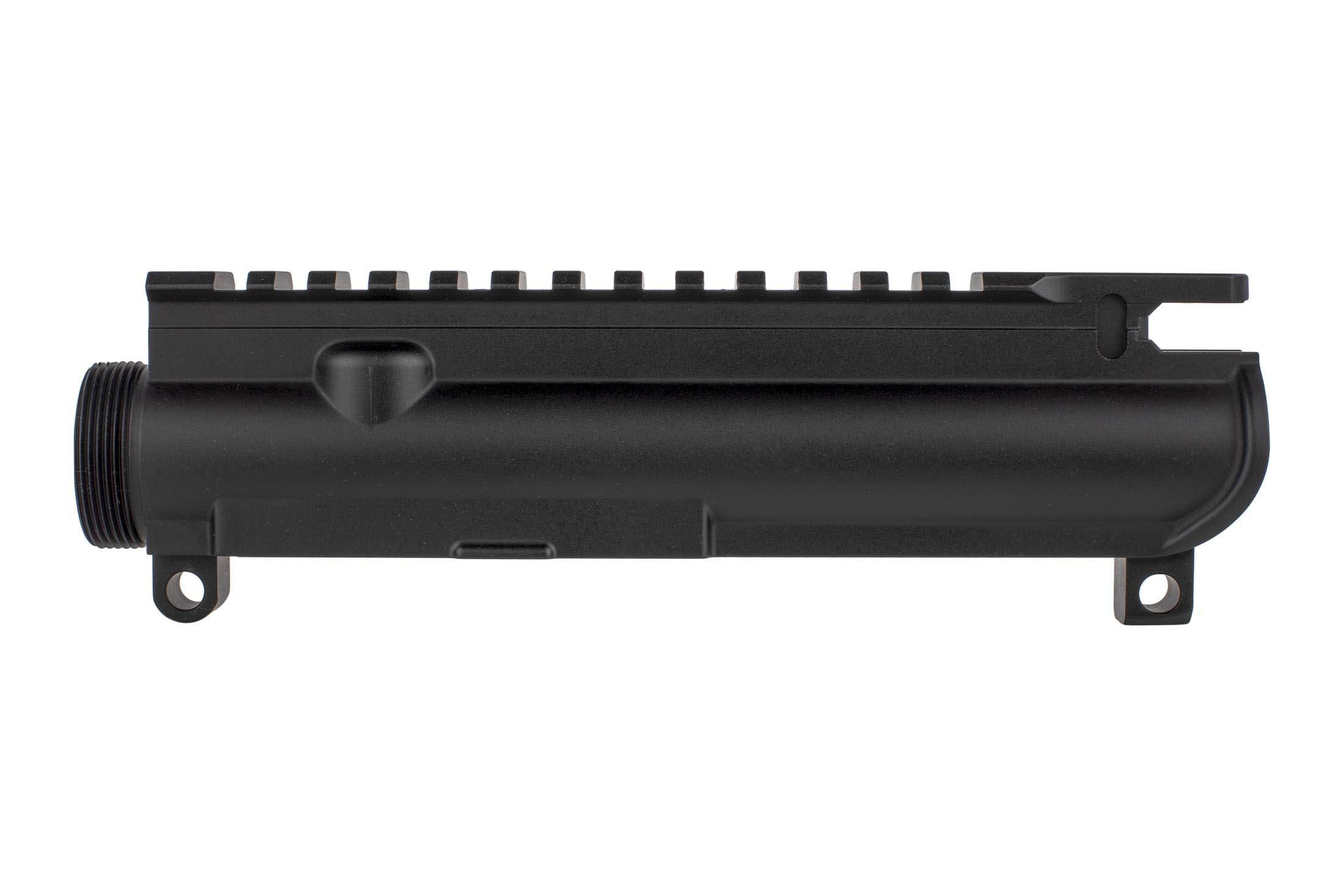 Aero Precision slickside MIL-SPEC AR15 upper receiver features a proper M1913 flat-top compatible with your favorite sights and optics