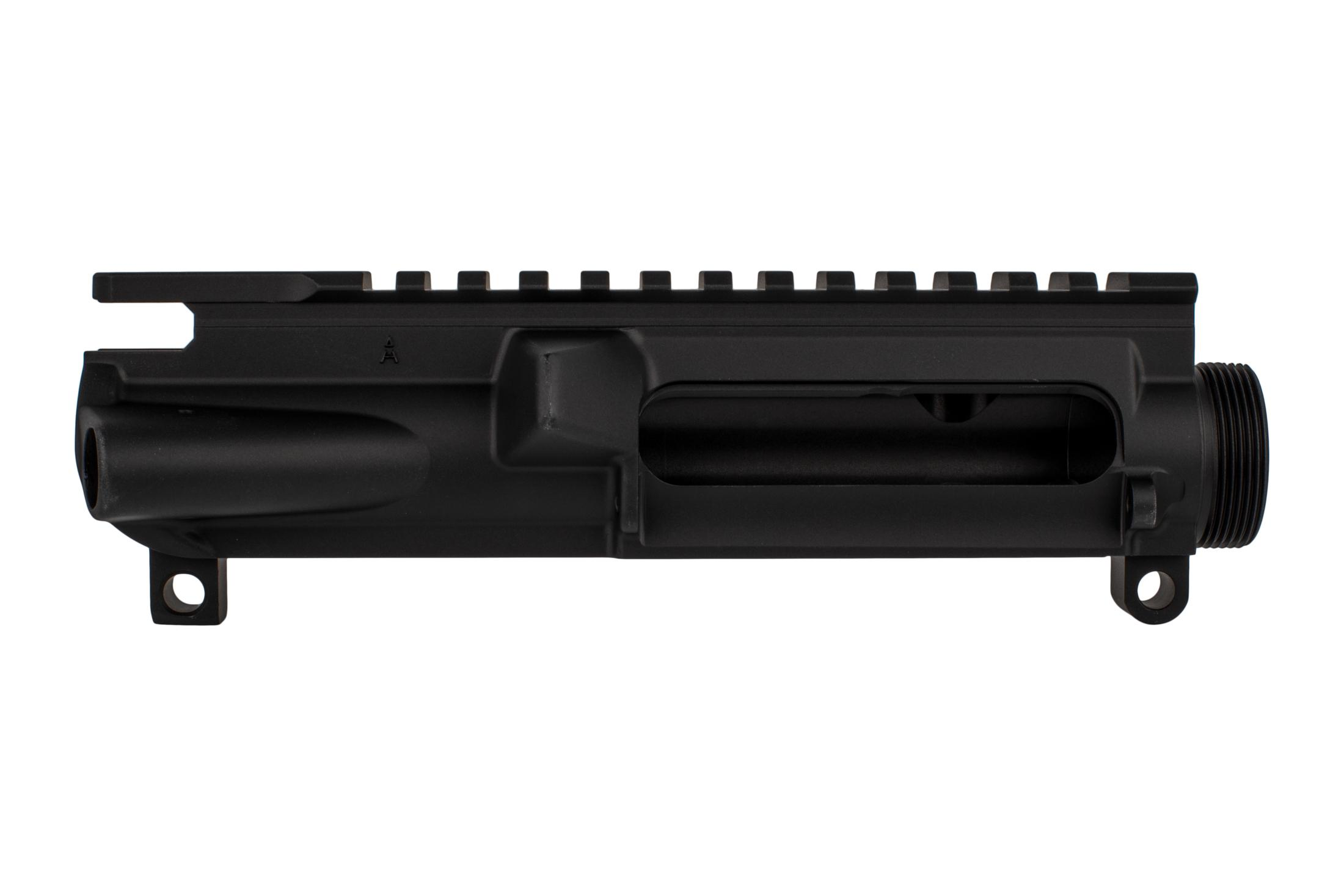 The Aero Precision stripped upper XL is forged from 7075-T6 aluminum