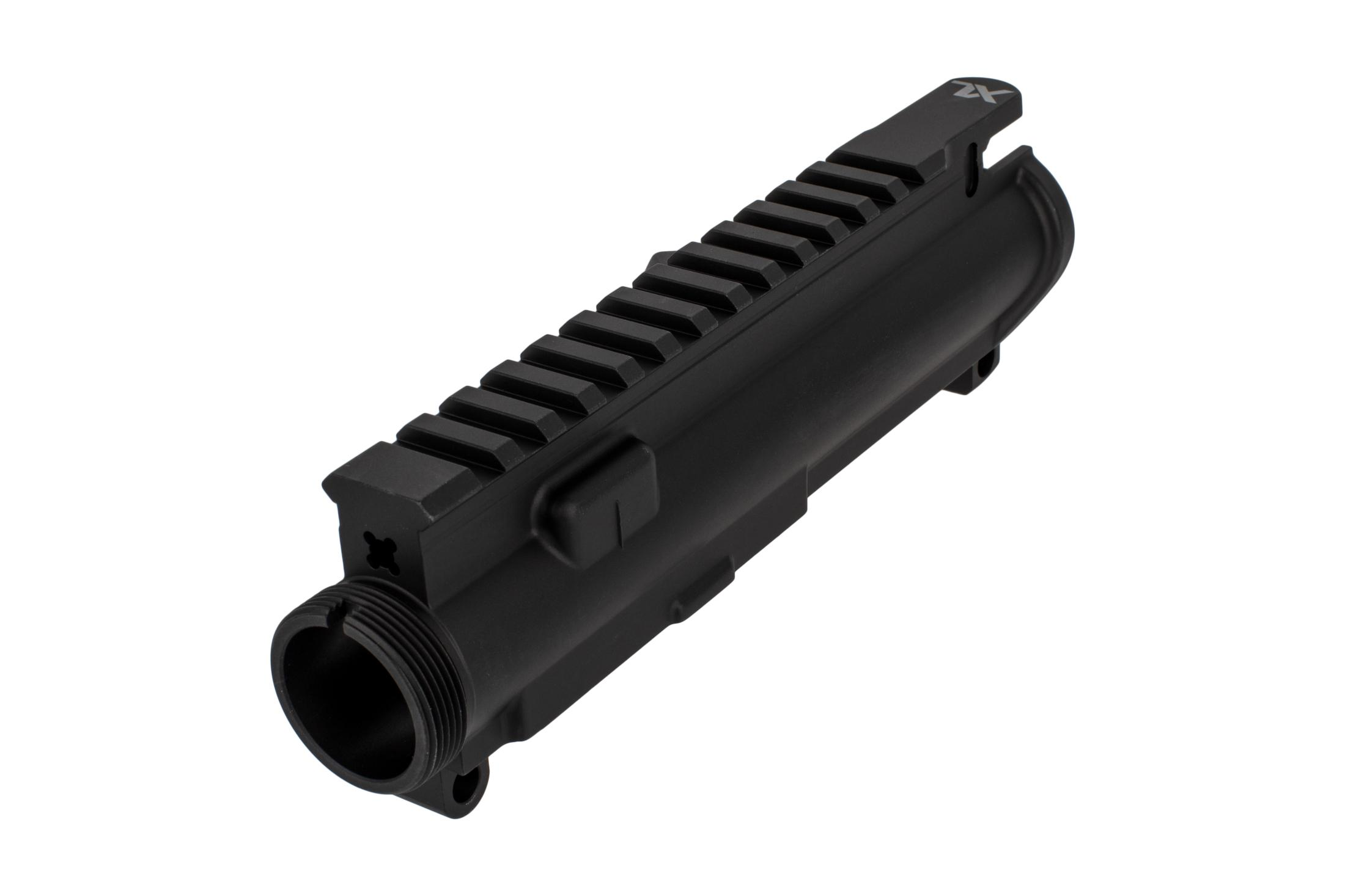 The Aero Precision big bore AR15 stripped upper receiver features the XL logo on the tang