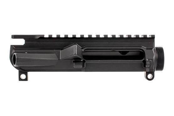 Aero Precision M4E1 threaded stripped upper receiver with Texas edition engraving in black