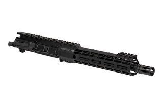 The Aero Precision 300 BLK M4E1 threaded barreled upper receiver assembly features a 10 inch barrel and S-ONE handguard
