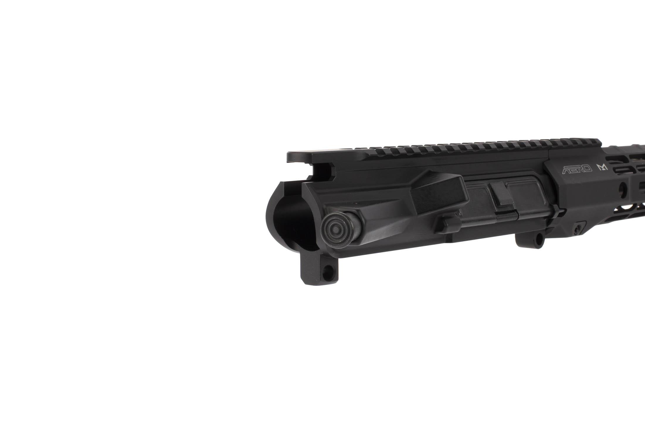 Aero Precision 16in M4E1 barelled AR-15 upper receiver accepts standard bolt carrier groups and charging handles