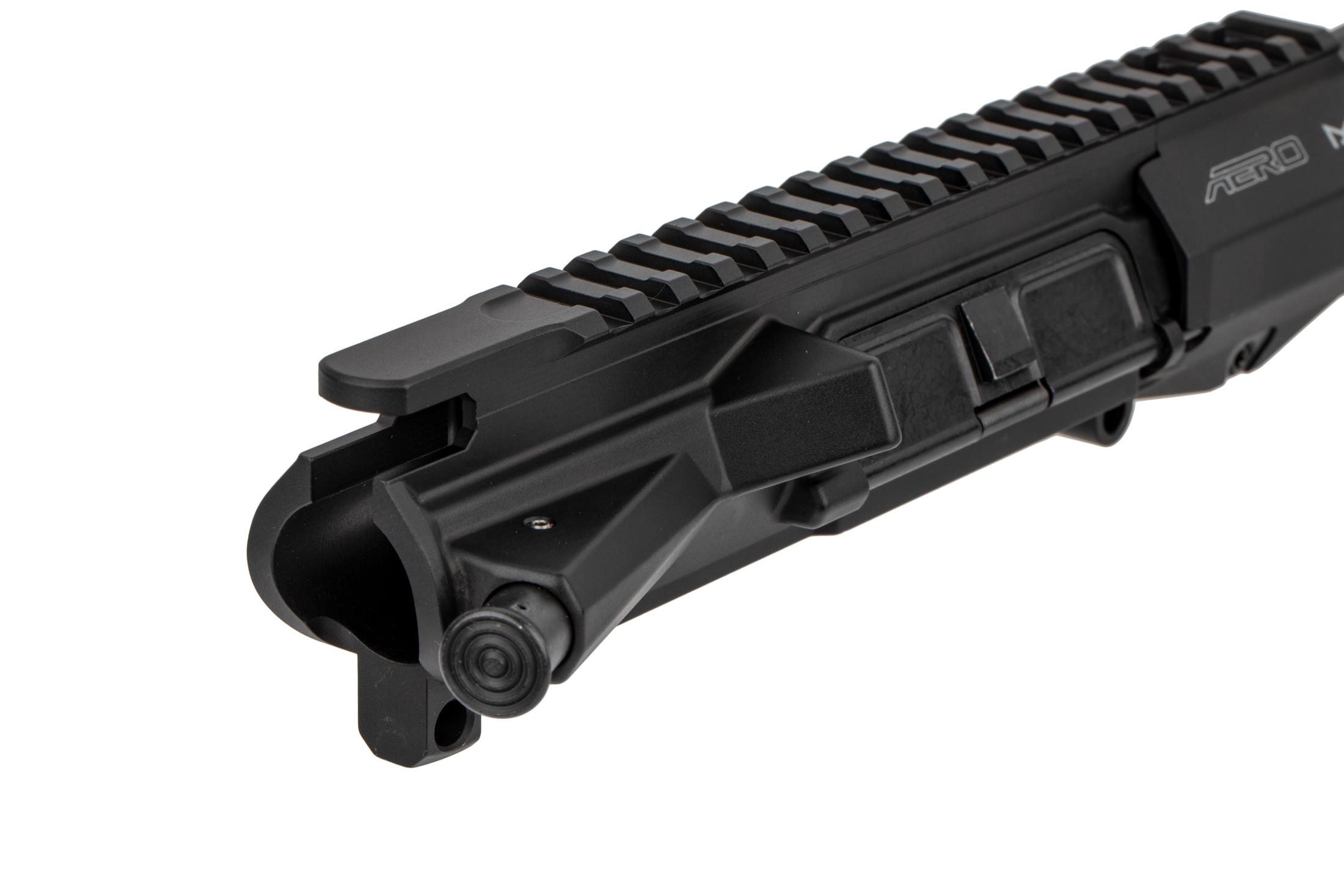 The Aero Precision AR15 barreled upper receiver is forged from 7075-T6 aluminum