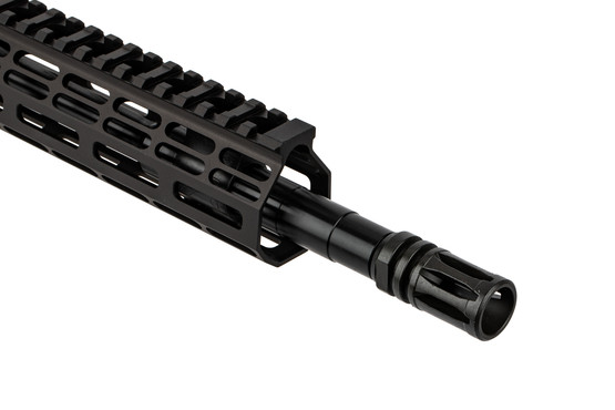 The Aero Precision M4E1 barreled upper receiver features a carbine gas system and A2 flash hider