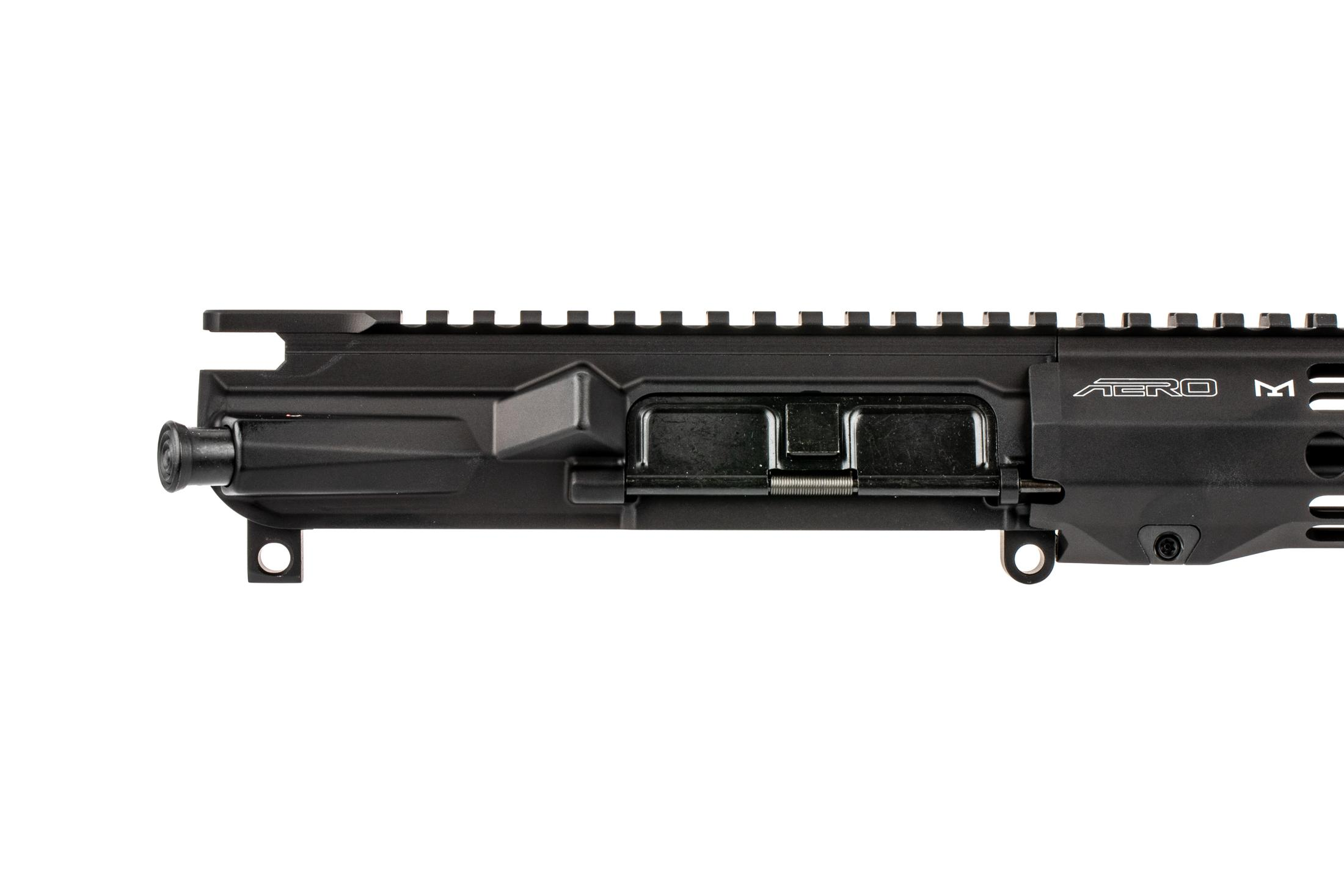 The Aero Precision M4E1 AR-15 barreled upper receiver group comes assembled with forward assist and dust cover