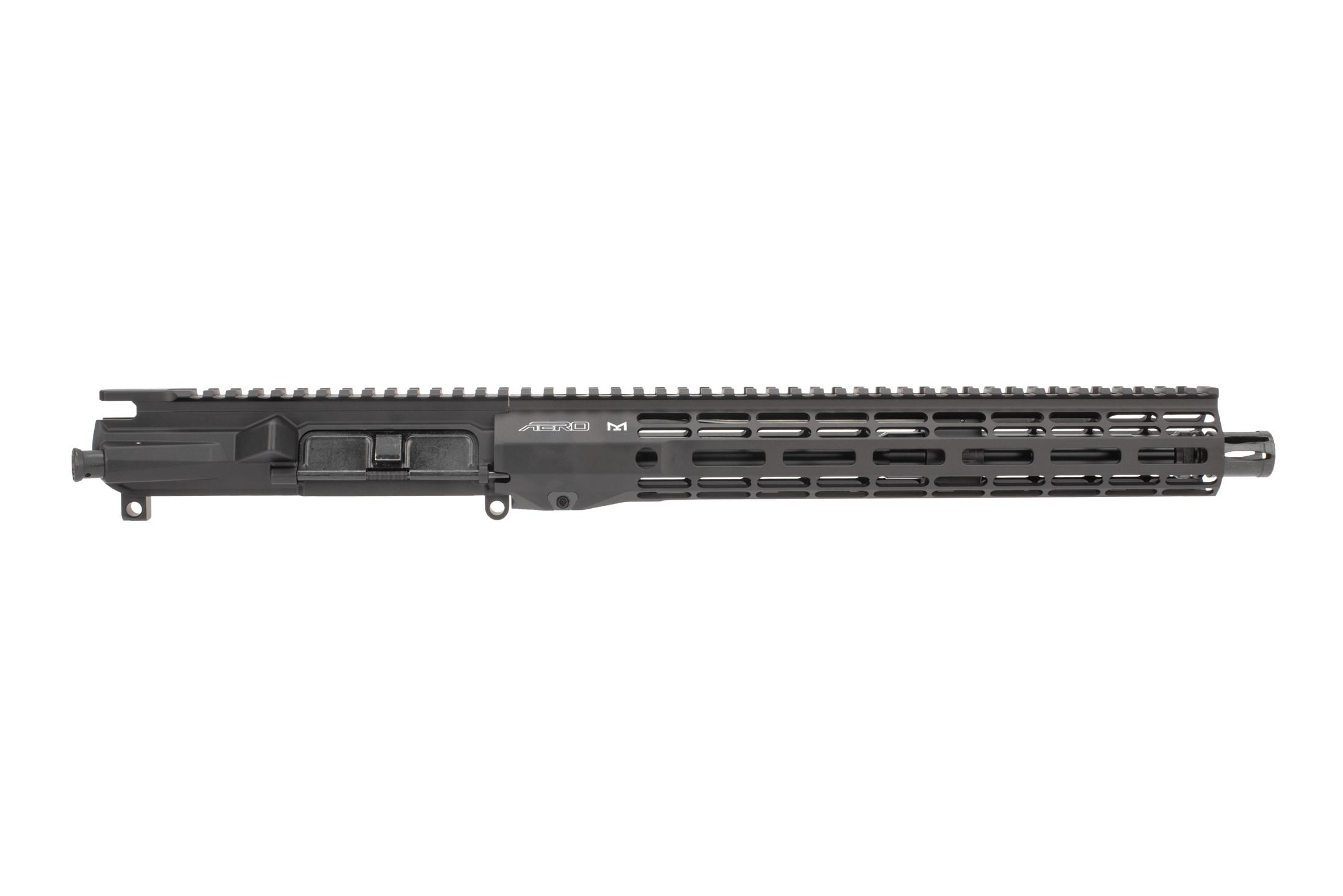 Aero Precision M4E1 Threaded 5.56 barreled upper receiver features the Atlas R-One handguard