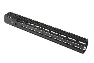 The Aero Precision Enhanced M-LOK Handguard 15 inch features a black anodized finish