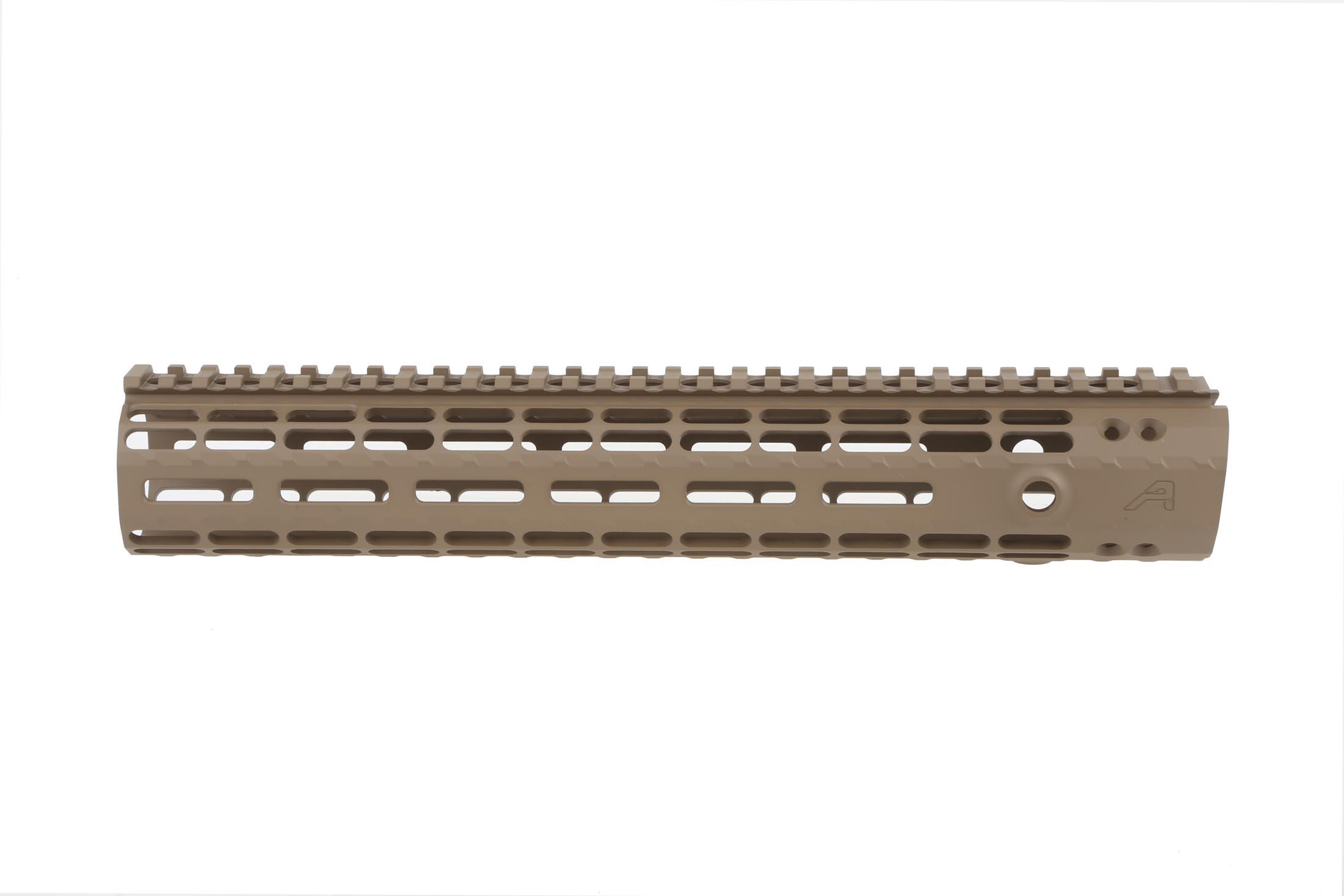 The Aero Precision 12in AR-15 Enhanced M-LOK Handguard is compatible with low profile gas blocks