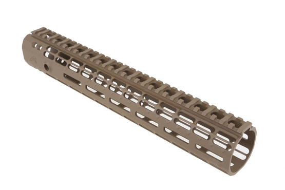 The Aero Precision 12in AR-15 Enhanced M-LOK Handguard has built in anti rotation tabs for a secure lock up