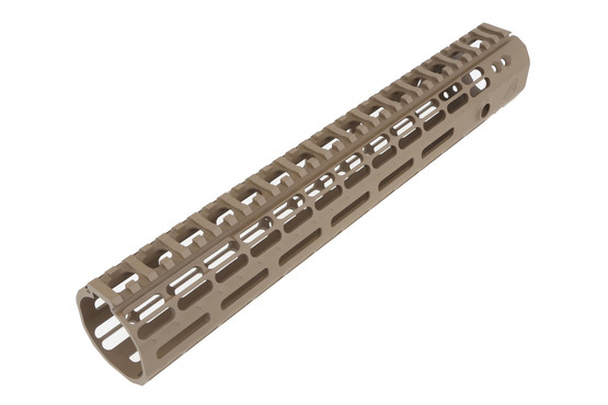 The Aero Precision 12in AR-15 Enhanced M-LOK Handguard is compatible with milspec upper receivers