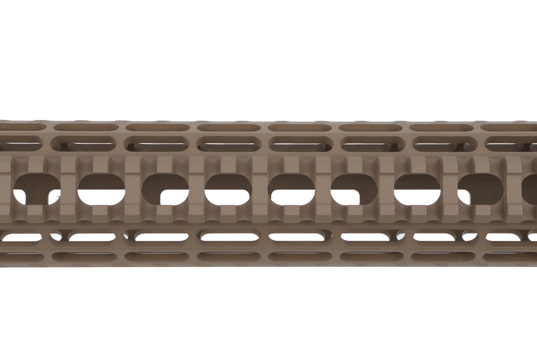 The Aero Precision 12in AR15 Enhanced M-LOK Handguard is ultra lightweight