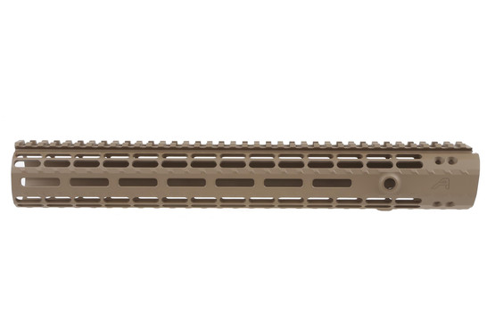 Aero Precision 12in Enhanced Gen 2 AR15 M-LOK handguard with full length top-rail and Flat Dark Earth finish.