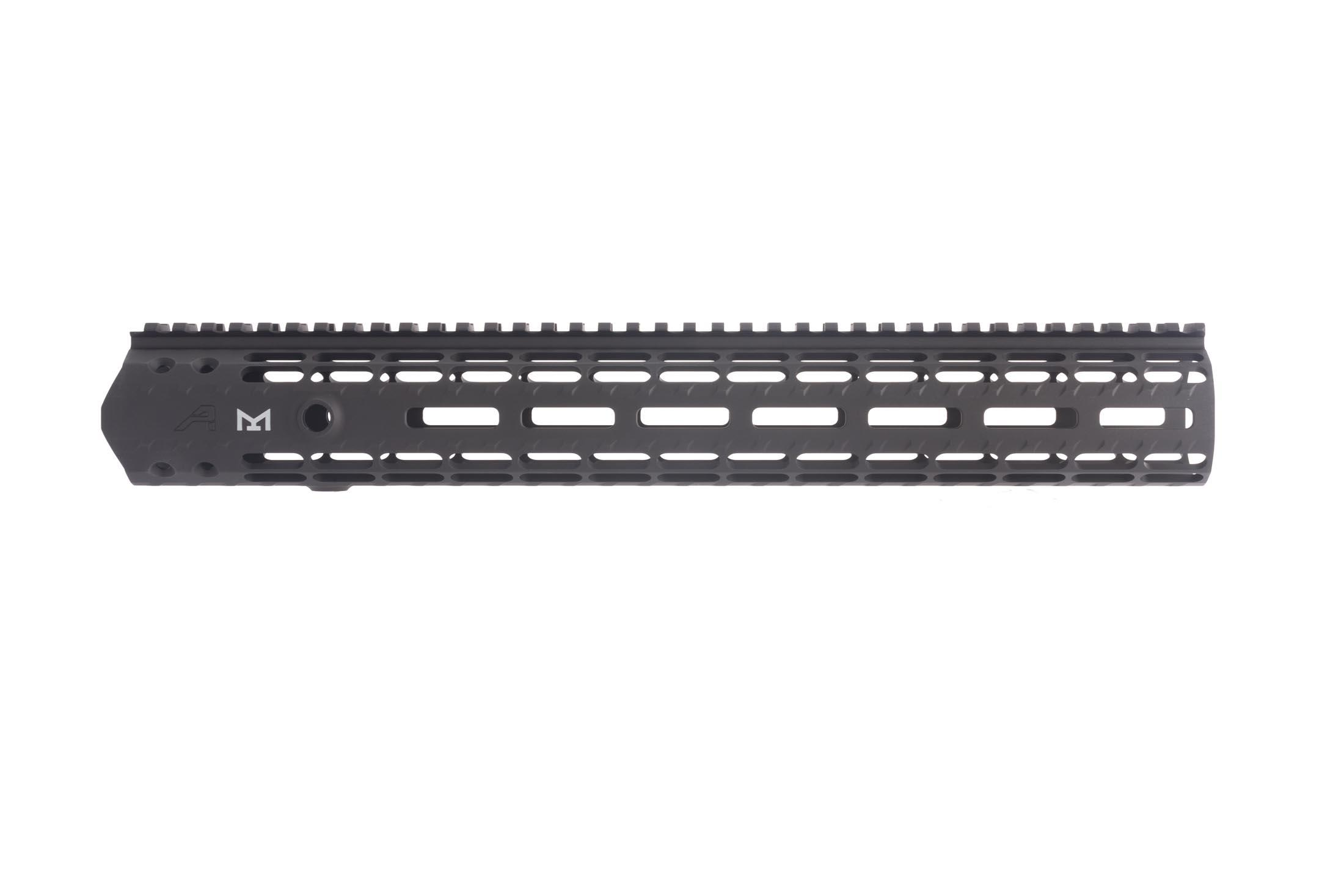 The Aero Precision M5 Enhanced free float handguard is made out of 6061-T6 aluminum