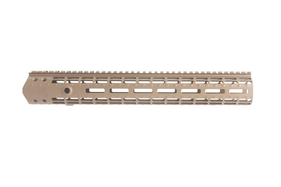 The Aero Precision M5 enhanced M-LOK handguard is extremely lightweight and durable