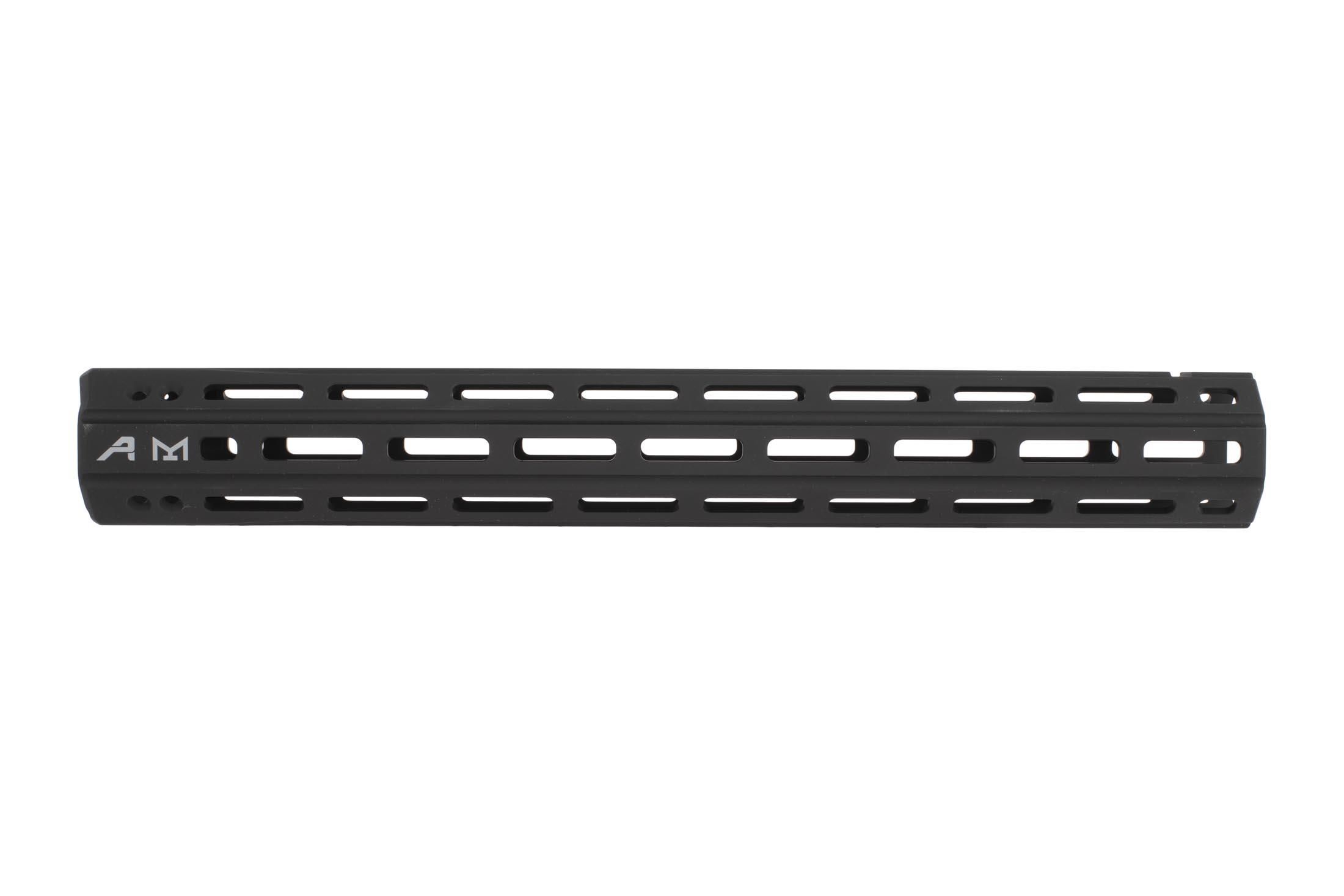 Aero Precision Quantum free float 15 in handguard for the AR-15 is a narrow and picatinny-free for minimal weight
