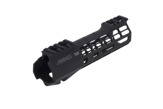 The Aero Precision ATLAS S-ONE free float handguard is machined from 6061-T6 aluminum