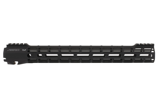The Aero Precision ATLAS S-ONE M-LOK Handguard features a black anodized finish