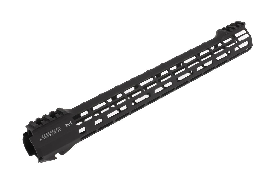 The Aero Precision S-ONE ATLAS 15 inch handguard covers rifle length gas systems