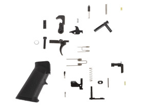 Aero Precision M5 lower receiver parts kit contains the parts you need to build out your M5 stripped lower