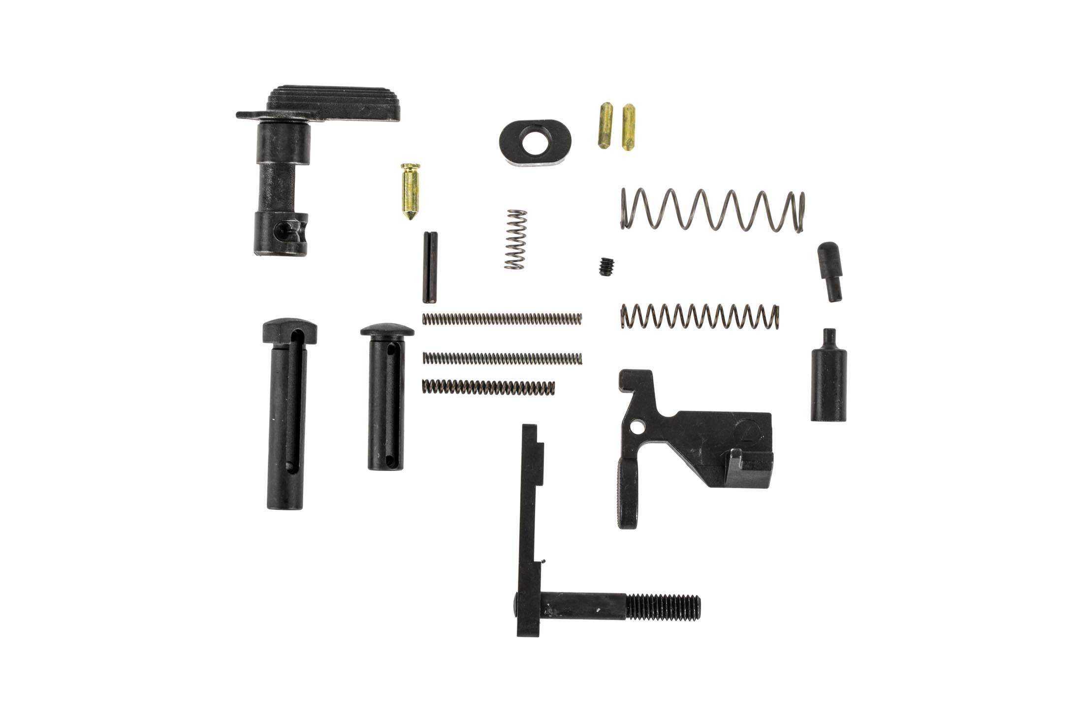 Aero Precision AR-15 lower parts kit without trigger group, pistol grip, or trigger guard