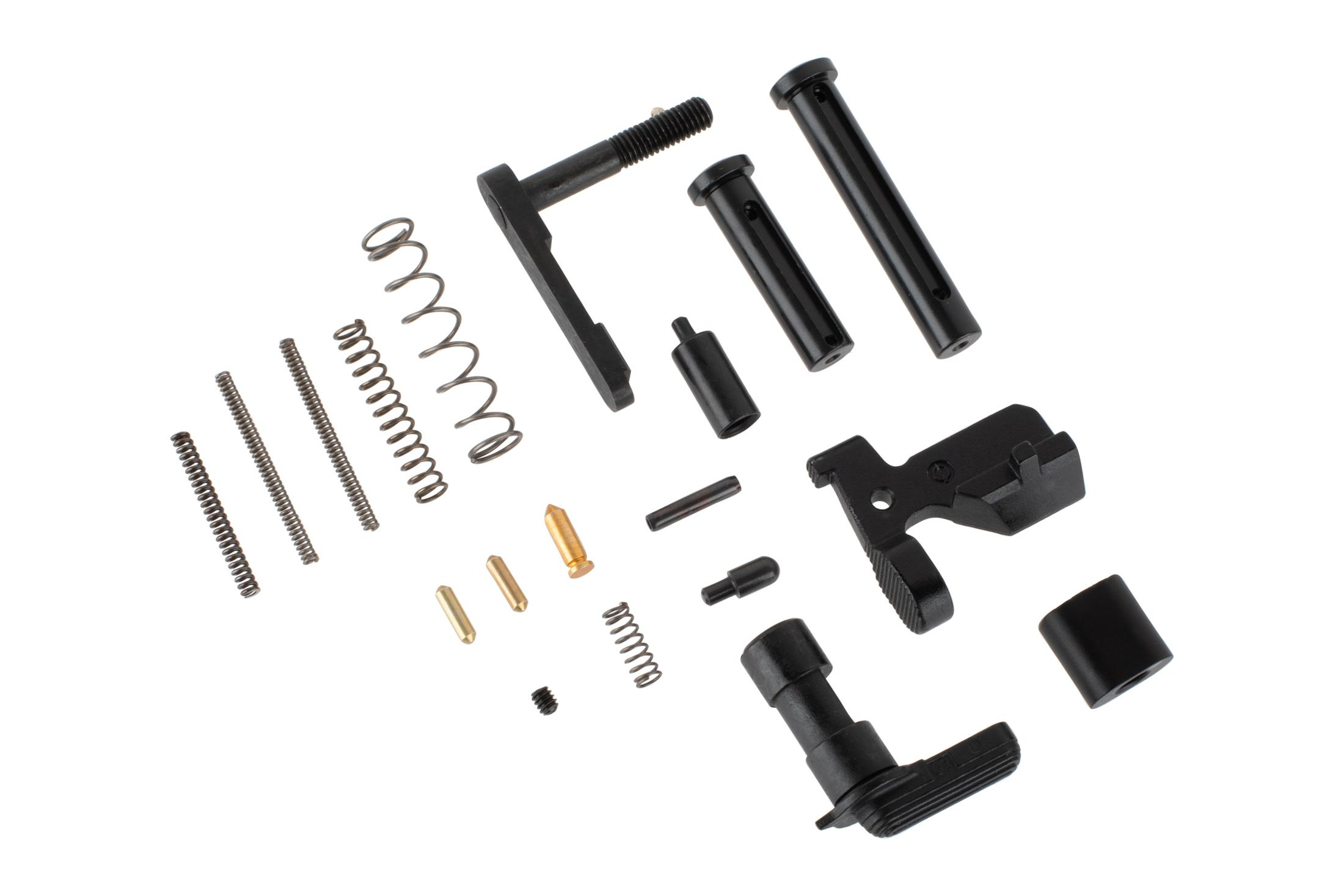 Aero Precision M5 lower parts kit without trigger group, pistol grip, or trigger guard