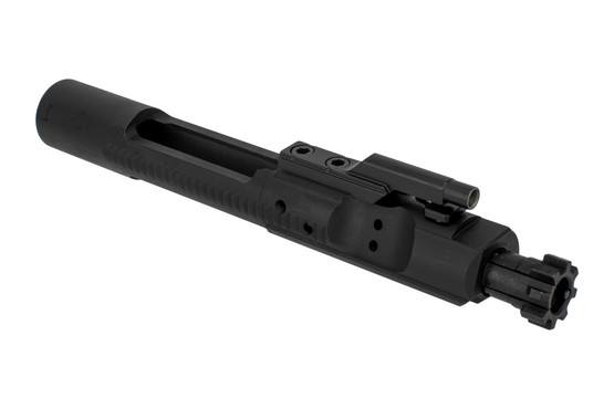 Aero Precision M16-cut bolt carrier group features a tough MIL-SPEC manganese phosphate finish without visible branding