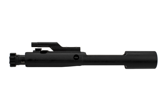Aero Precision's no-logo M16-cut complete bolt carrier group with phosphate finish features a matte black non-reflective finish