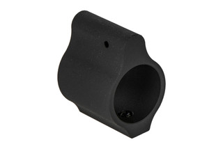 "Aero Precision low profile gas block without logo fits .625"" barrels with a tough phosphate finish"