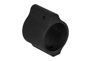 "Aero Precision low profile gas block without logo fits .936"" barrels with a tough phosphate finish"