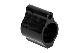 "Aero Precision Low Profile gas block for .750"" barrels features a nitride finish and logo-free sides."