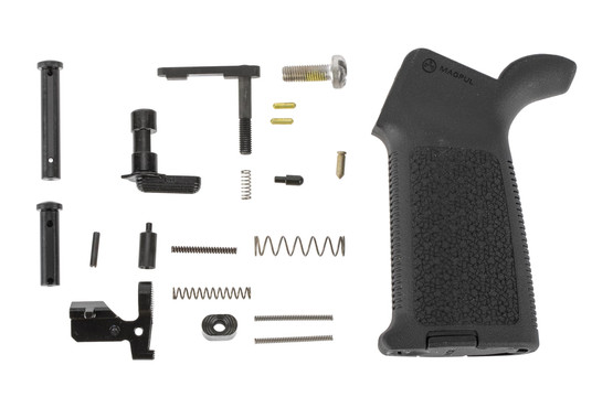 Aero Precision M5 MOE Lower Parts Kit Minus FCG - Black