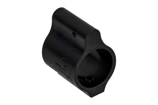 "Aero Precision low profile .750"" gas block for the AR-15 and AR-10 features a black nitride finish."