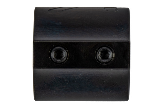 "Aero Precision set screw low profile .875"" gas block features a nitride finish."