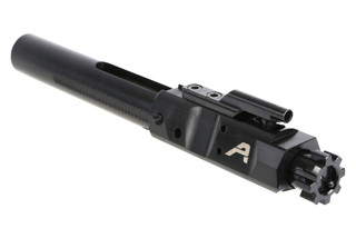 The Aero Precision 308 bolt carrier group features a black Nitride finish