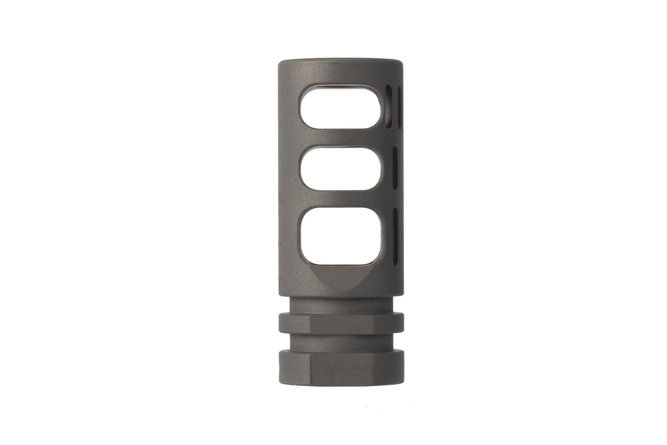The VG6 Precision Gamma 762 High Performance Muzzle Brake is 2.21 inches in length