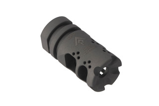 VG6 Precision GAMMA High Performance AR-15 muzzle brake with bead blasted finish for 1/2x28 threaded barrels