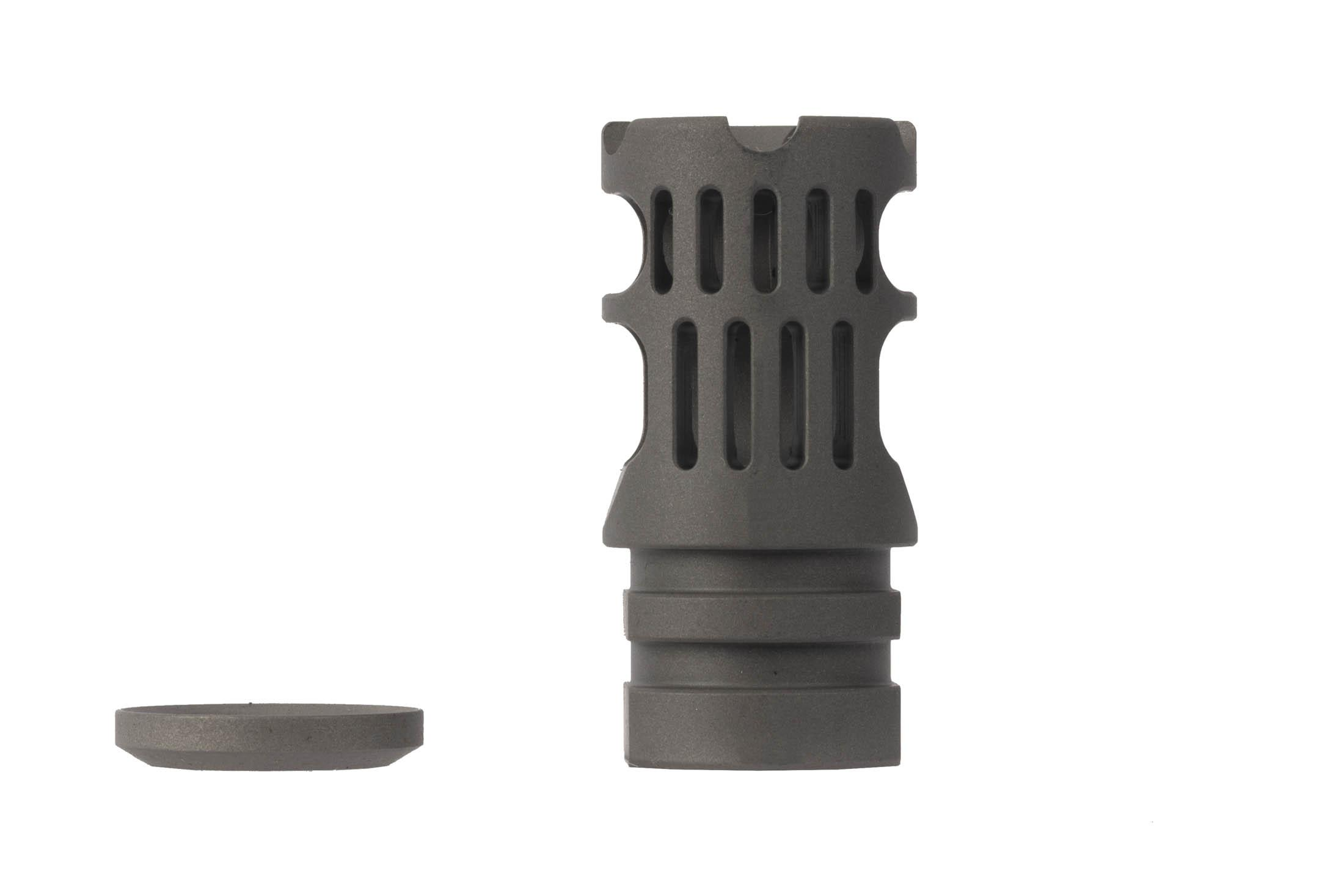 The VG6 Gamma 300BLK High Performance Muzzle Brake includes one crush washer