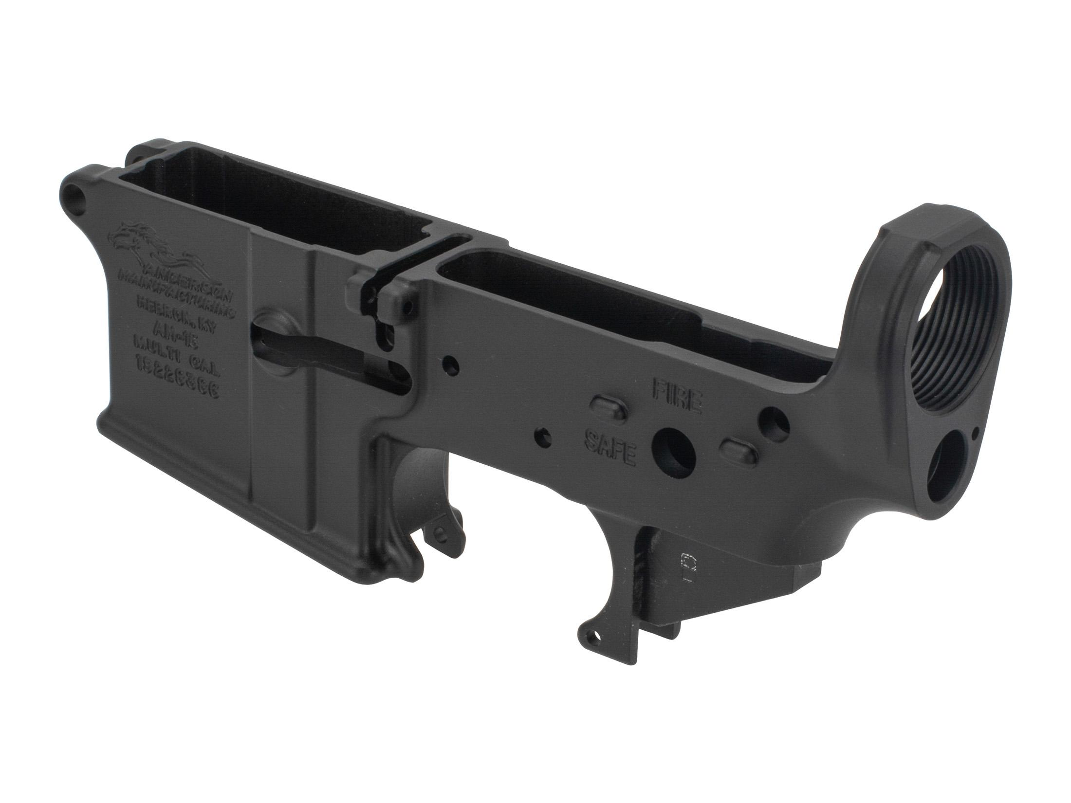 Anderson Manufacturing AR-15 Stripped Lower Receiver - Cosmetic Blem