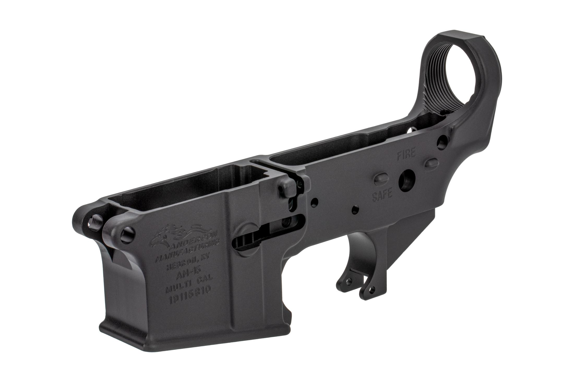 Anderson Manufacturing AR-15 Stripped Lower Receiver