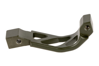 Timber Creek Outdoors oversized ar-15 trigger guard machined from billet aluminum with olive drab green Cerakote finish