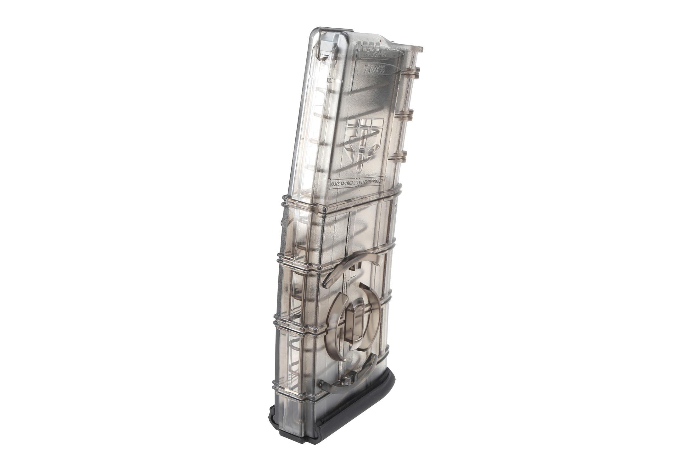Elite Tactical Systems 30-Round 5.56 NATO Translucent Magazine with Coupler