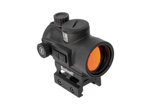 Bushnell AR Optics TRS26 features a large objective for an exceptional field of view with bright 3 MOA red dot