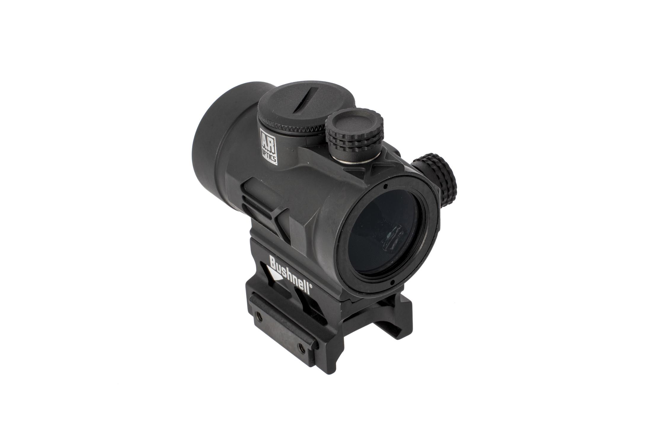 Bushnell AR Optics TRS26 1x25mm features a low profile emitter that won't interfere with sight picture